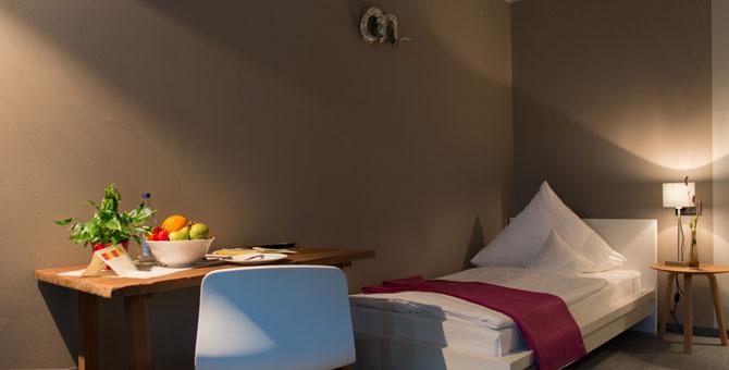 Einzelzimmer Hotel Brigitte