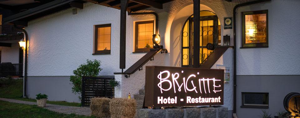 Herzlich willkommen im Hotel-Restaurant Brigitte