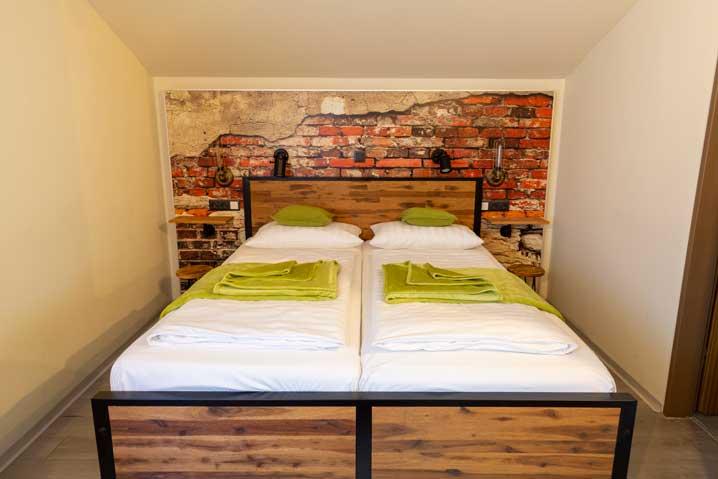 Hotel Brigitte Komfort Doppelzimmer ohne Balkon