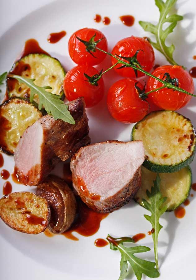 Restaurant Brigitte Schweinemedaillons